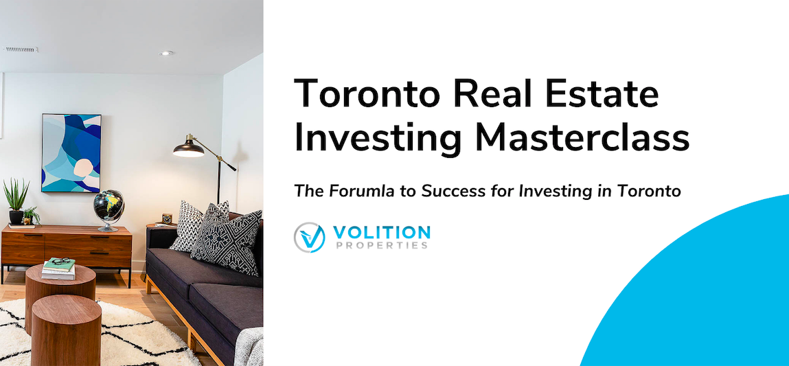 Masterclass – Toronto Real Estate Investing in 2021